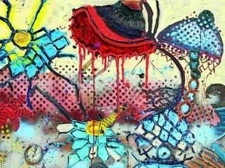 Obras. Artista mineiro faz uso de referências de seu Estado natal quando retrata paisagens e plantas, além ter traços do Barroco