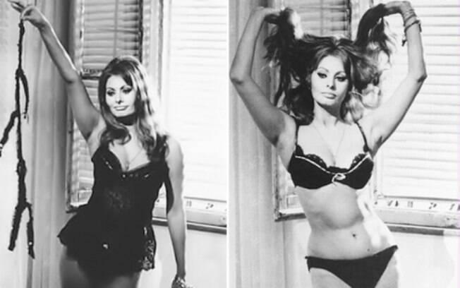Sophia Loren em 'Ontem, Hoje e Amanhã' (1963)