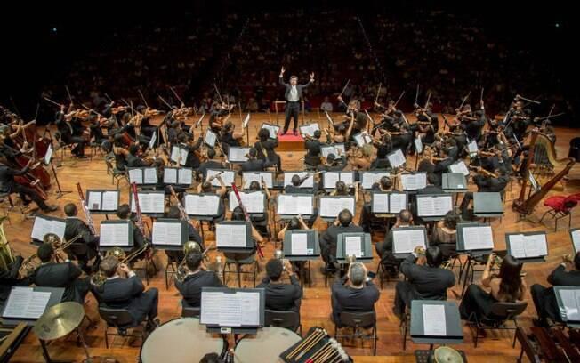 Na Sala São Paulo acontecem diariamente espetáculos de música clássica