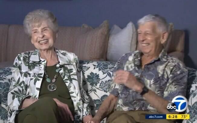 Ed e Florence estão casados há 70 anos