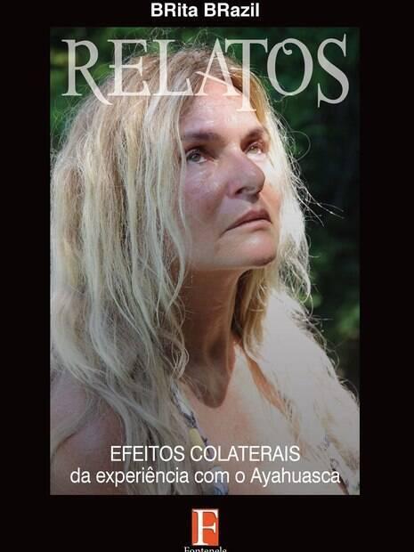 Capa do livro Relatos, de Brita Brazil