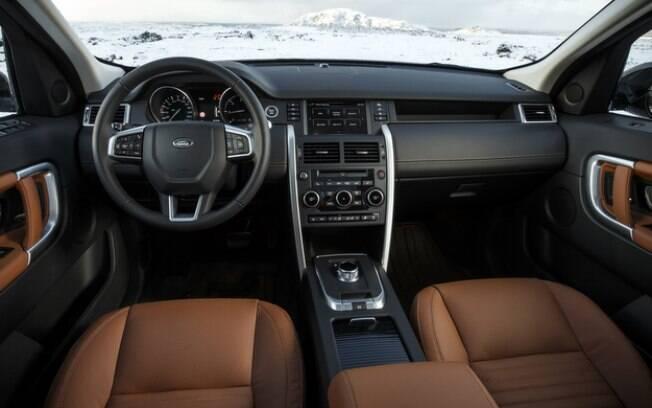 O Land Rover Discovery Sport ainda precisa de atualizações no pacote de tecnologia