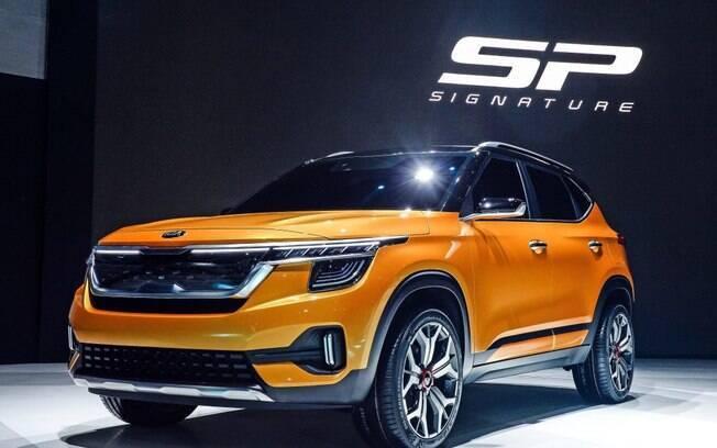 O protótipo Kia SP Signature revela como será a versão de produção do novo SUV compacto, salvo poucos detalhes