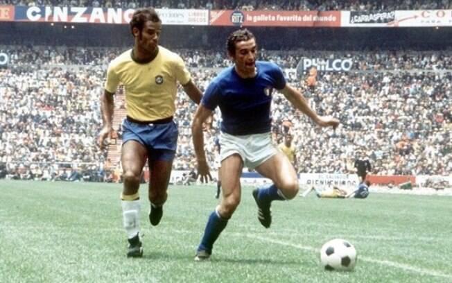Brasil enfrentou a Itália na final da Copa do Mundo de 1970