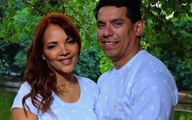 Flordelis e o marido