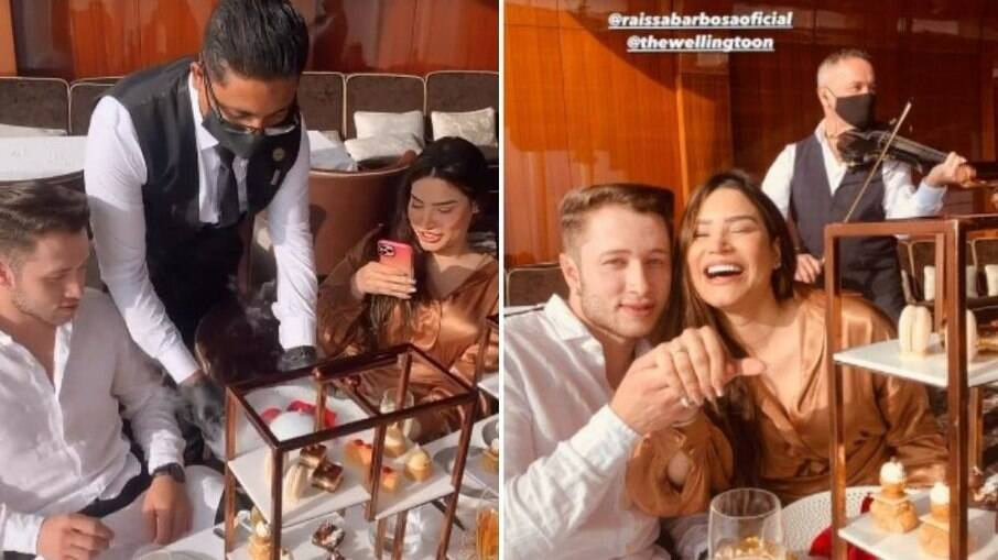 Raissa Barbosa e Victor Ferraz ficam noivos