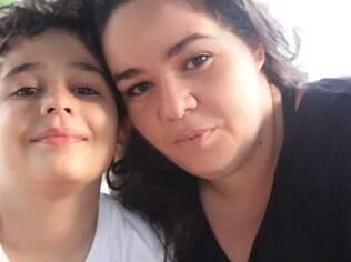 Raquel começou a amar o filho Rafael um dia depois de receber o positivo do exame de gravidez: