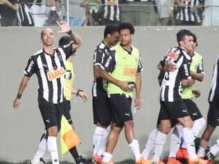 Tardelli recebeu homenagem antes do jogo pela marca de 200 jogos no Galo e foi coroado com o gol