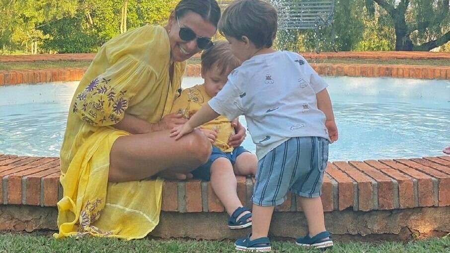 Os filhos de Paulo Gustavo ajudaram Mônica Martelli a voltar a sorrir