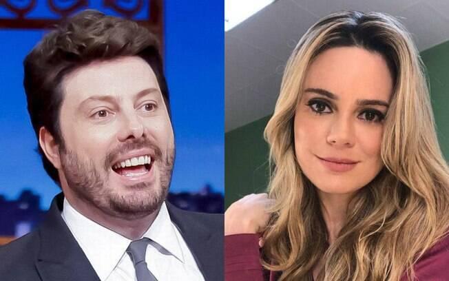 Danilo Gentili e Rachel Sheherazade