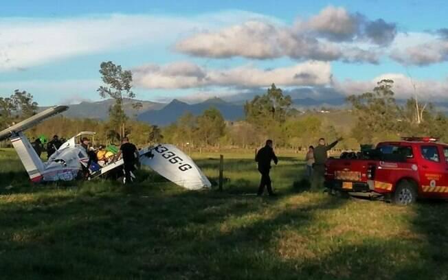 Avião que caiu na Colômbia estava com a dumentação em dia