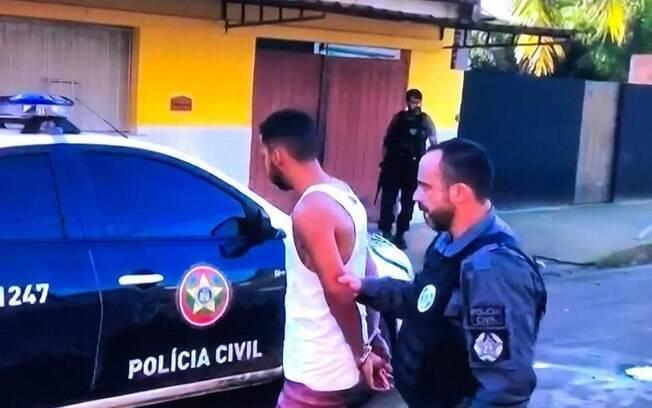 Um dos milicianos presos na operação da Polícia Civil e do MP-RJ