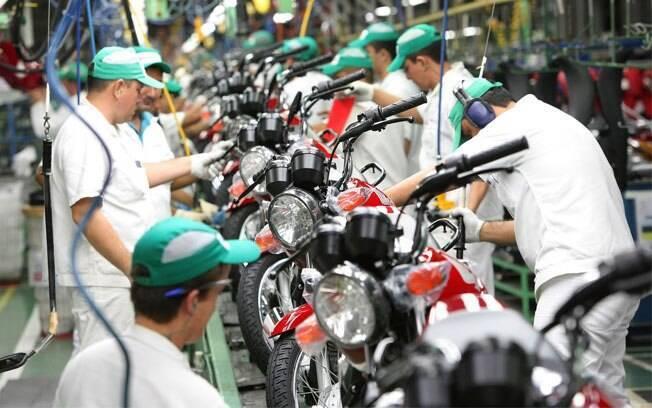 A produção de motos se eleva cada vez mais, já que a previsão para os próximos anos é aquecimento do mercado