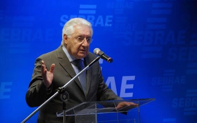 O presidente do Sebrae Guilherme Afif Domingos ressalta a importância das PME em renegociar seus débitos
