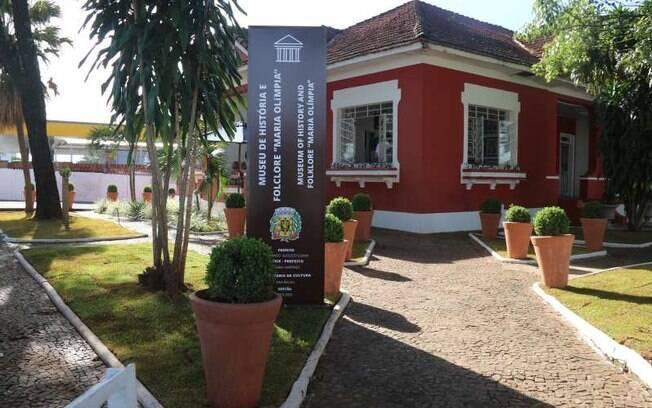 O museu da história e folclore