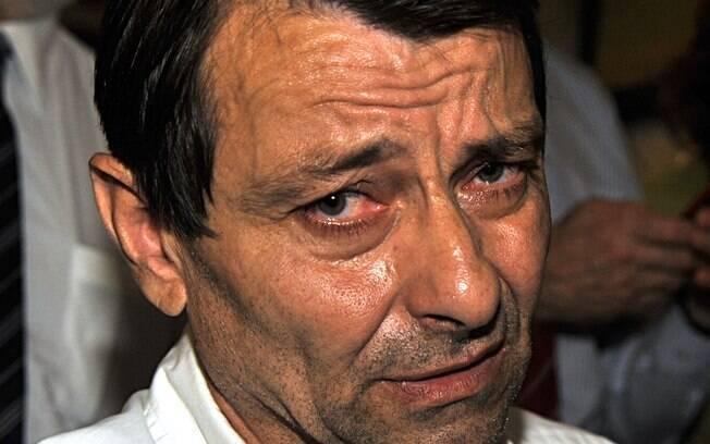 Battisti foi condenado à prisão perpétua na Itália pelo assassinato de quatro pessoas na década de 1970
