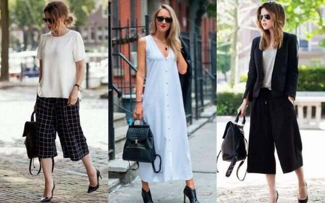Fique sabendo que os looks com mochila de couro também podem ser úteis e bastante práticos para os dias de trabalho