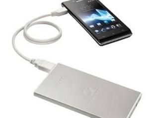 Carregador portátil de celular  está entre acessórios mais vendidos e procurados na internet