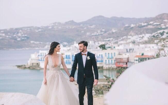 O local paradisíaco passou a ser disputado por casais que desejam um casamento em um cenário deslumbrante