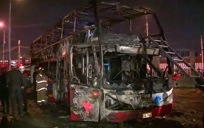 Fogo causou a morte de pelo menos 20 pessoas e feriu outras oito em Lima, capital do Peru