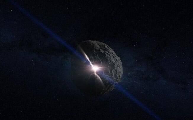 Para conter impactos que asteroide pode acarretar, Nasa está construindo uma nave espacial, batizada de HAMMER