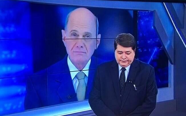 Datena confirma morte de Ricardo Boechat e se emociona em rede nacinoal