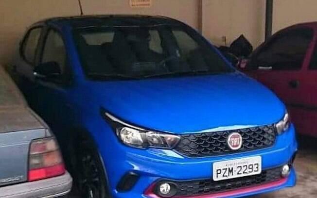 Fiat Argo Openning Edition é fotografado antes de ser apresentado oficialmente, na semana que vem