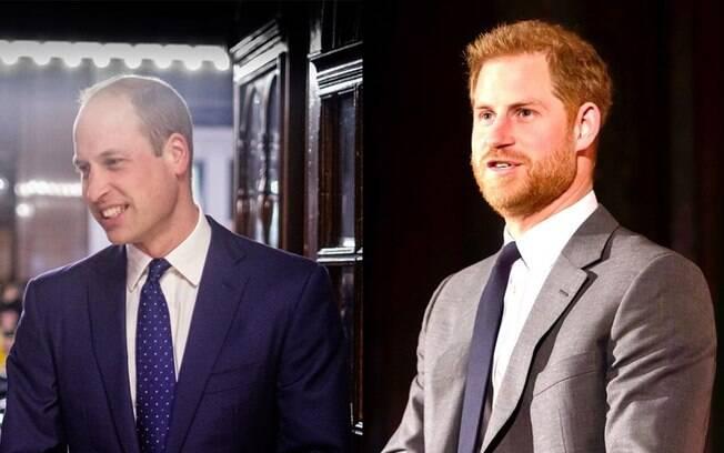 Príncipe Harry e Príncipe William voltaram a se falar