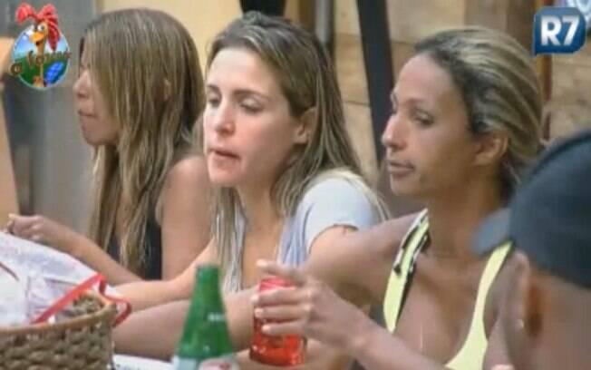 Joana Machado avisa que vai dar o sangue na prova do Fazendeiro