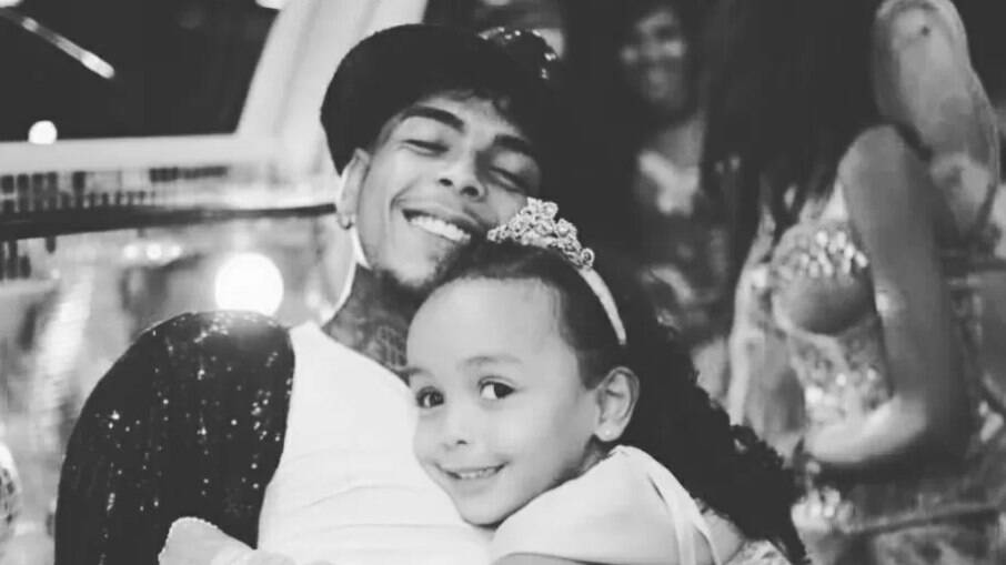 MC Kevin e a filha, Soraya