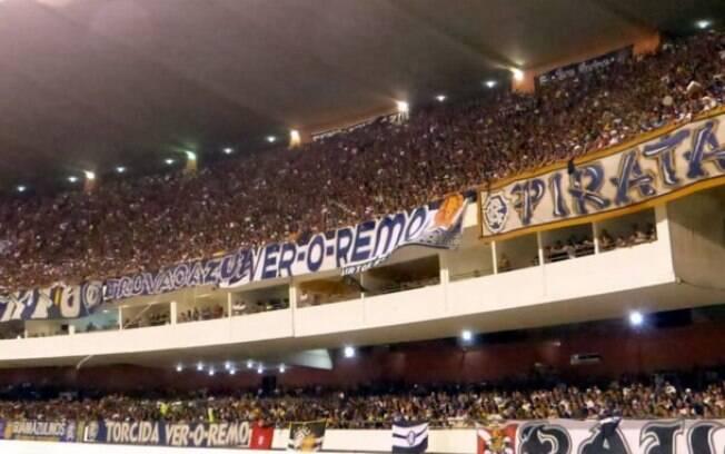 Clube do Remo tem média de 15.000 torcedores por jogo