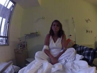 Jeanne da Silva está internada há mais de dois meses para conseguir tratamento