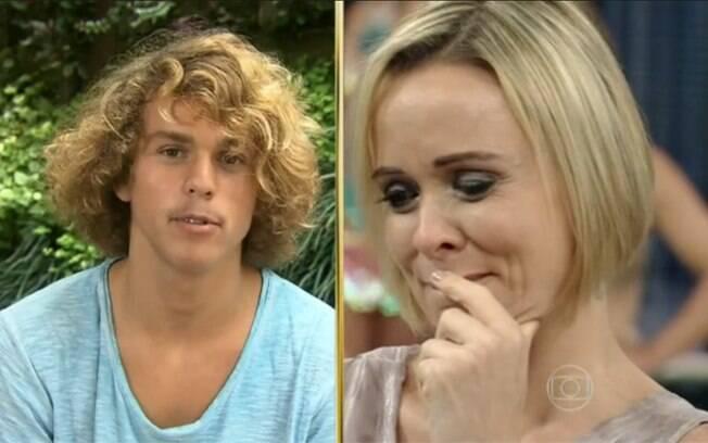 Giulia Gam se emociona com declaração do filho Theo, de 15 anos