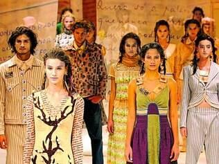 """Drummond. Peças inspiradas no poema """"Todo Mundo e Ninguém"""", de 2005, compõem a exposição"""