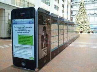 Exposição homenageia Steve Jobs mostrando suas patentes