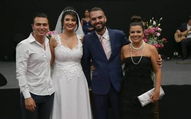 Gabriel Torres, Mayra Batista, Valter Tavares e Mara Maravilha