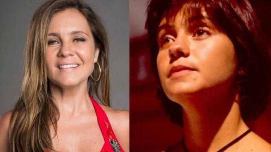 Adriana relembrou papel na novela de 1993