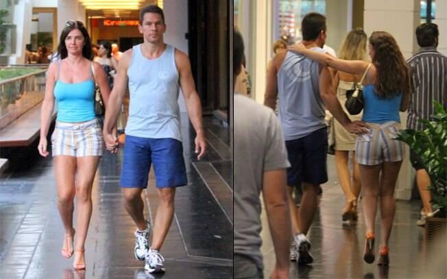 Luma de Oliveira e o namorado, Henrique