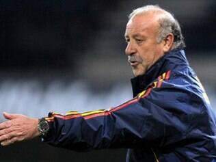 Vicente Del Bosque ainda não definiu equipe titular da seleção espanhola