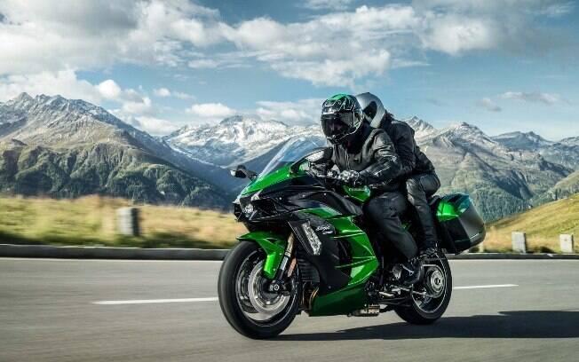 Kawasaki Ninja H2 SX SE: A versão legalizada para a rua da moto mais veloz do Brasil é a 5ª entre as motos mais caras