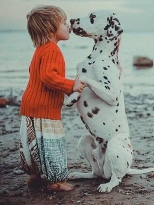 Um bichinho de estimação se torna um amigo para a vida inteira
