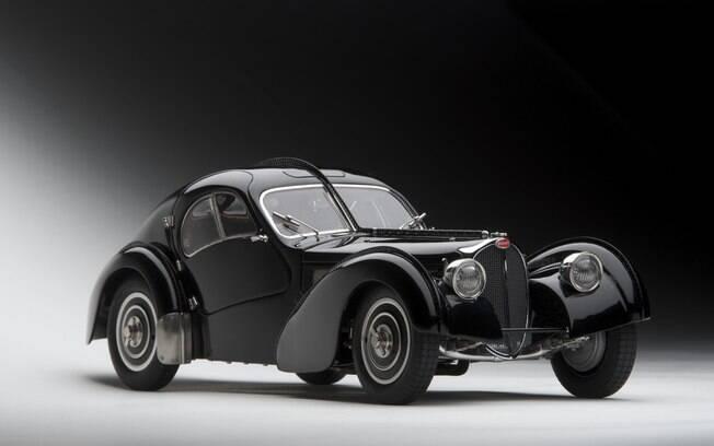 O Bugatti 57 SC Atlantic foi criado por Jean Bugatti e teve apenas quatro unidades produzidas entre 1936 e 1938.