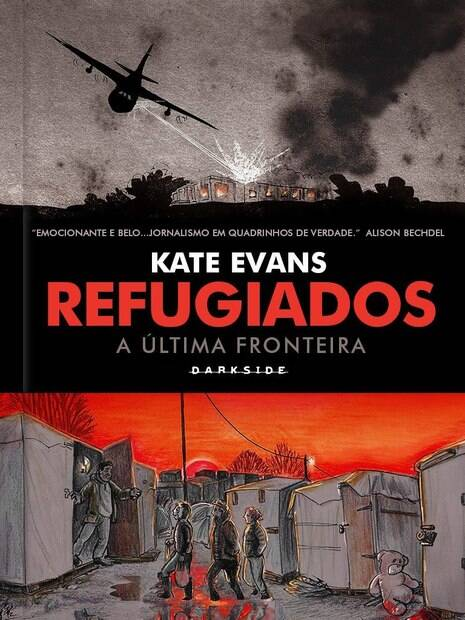 Kate Evans escreve graphic novel sobre refugiados