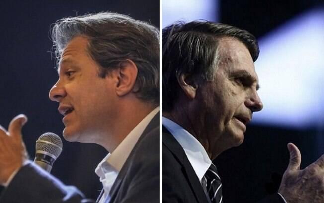 Propostas para educação de Haddad e Bolsonaro são conflitantes: um foca no ensino básico, outro prioriza ensino médio