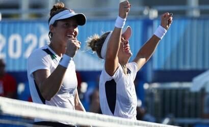Brasileiras fazem história e conquistam o bronze no tênis