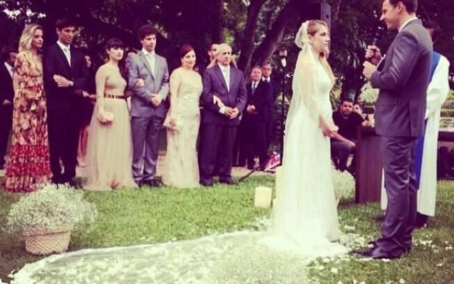 Juliana Baroni se casa em São Paulo