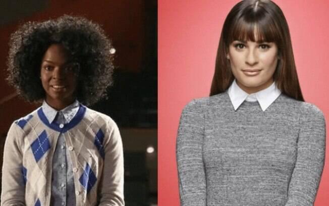 Samantha Ware e Lea Michele na série