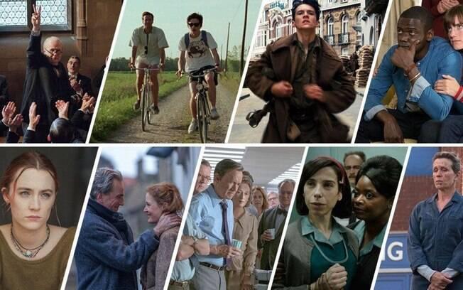 Os indicados ao Oscar de melhor filme em 2018