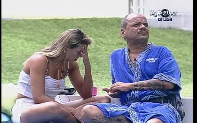 Fabiana colocou João Carvalho no Paredão