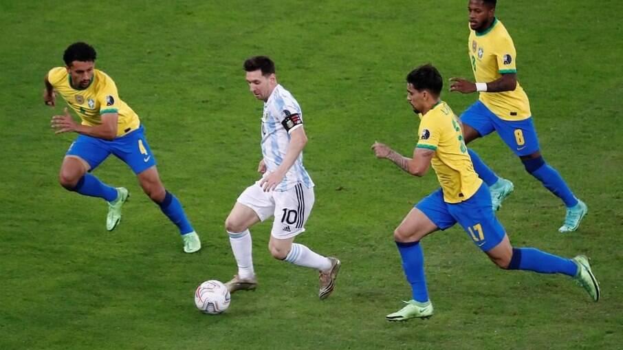 Brasil e Argentina vão se enfrentar no dia 5 de setembro na Neo Química Arena